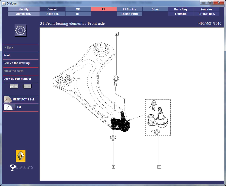 Renault Megane Perfohub Transplant - Parts Diagrams 1